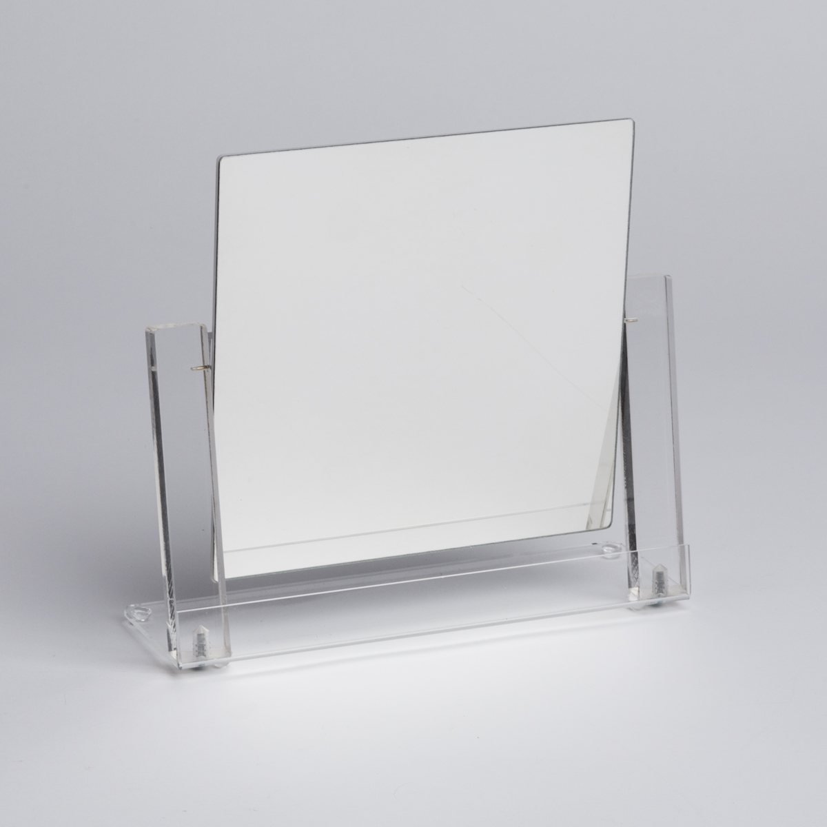 Countertop Mirror : Jewelry Mirror - Countertop, Clear Frame A&B Store Fixtures