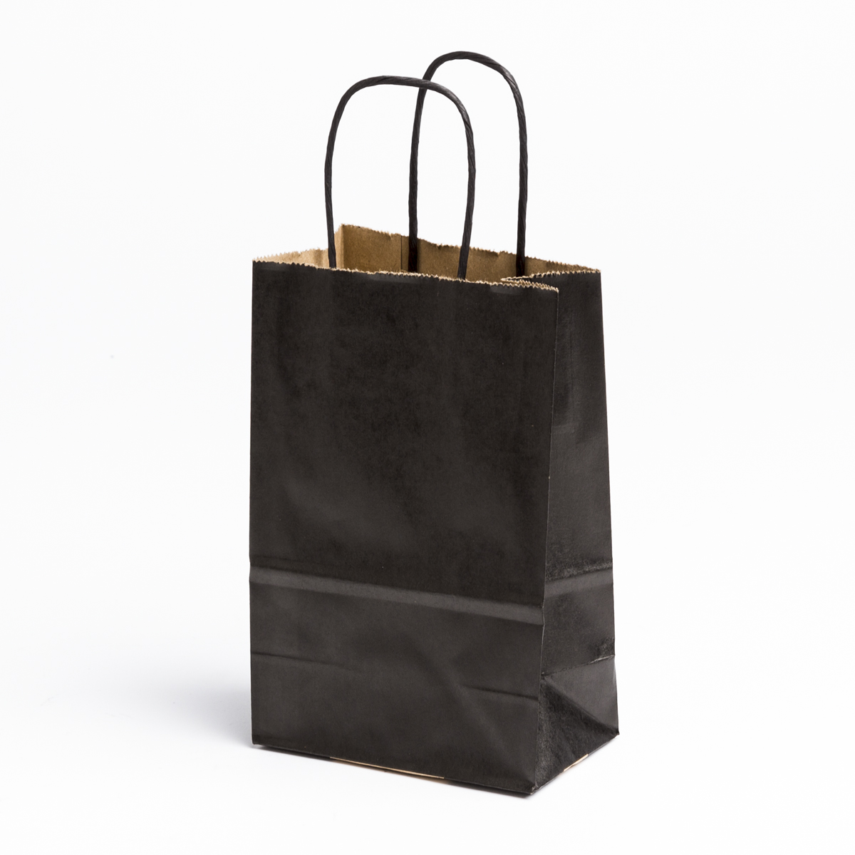 black shopping bags small a b store fixtures