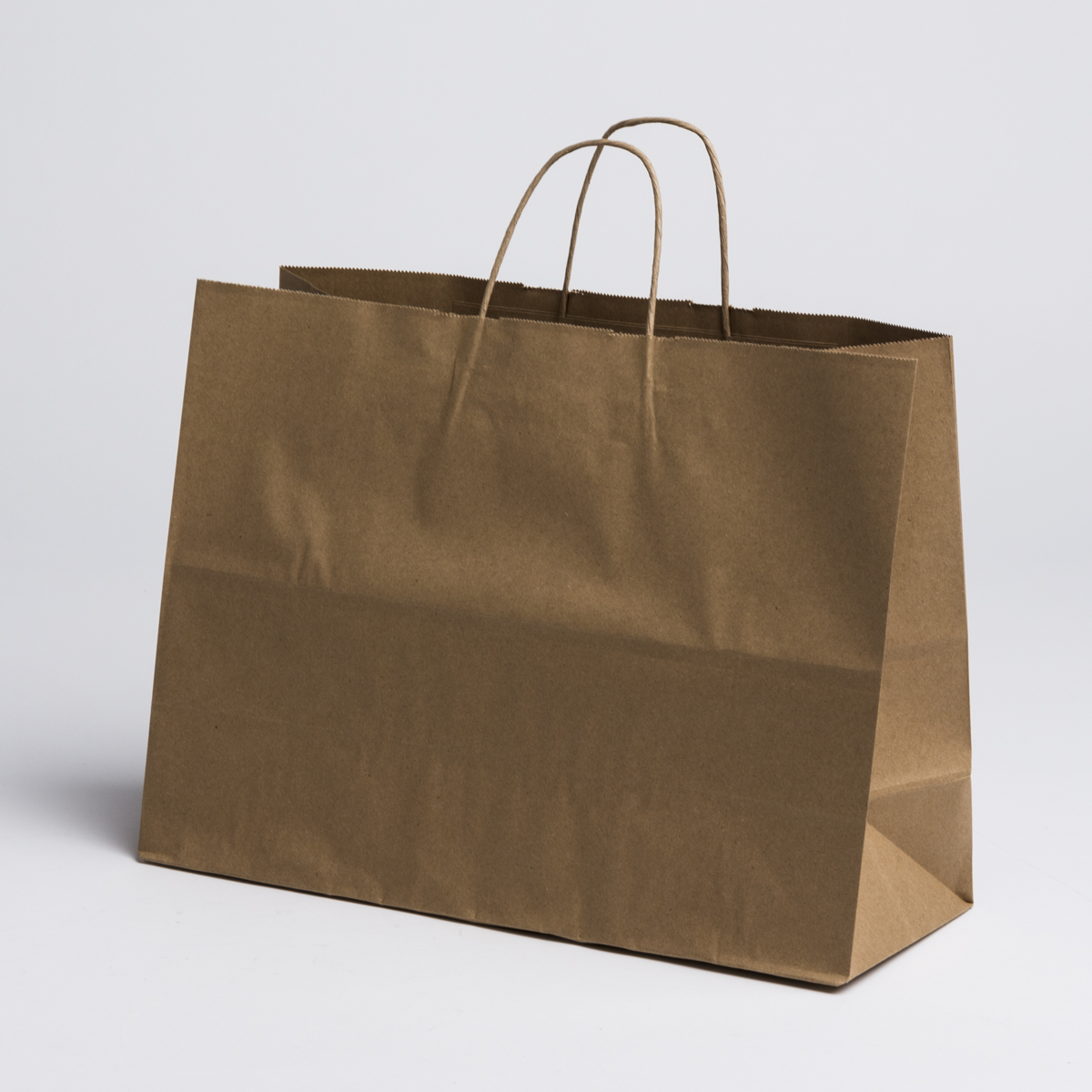 kraft paper shopping bags large a b store fixtures. Black Bedroom Furniture Sets. Home Design Ideas