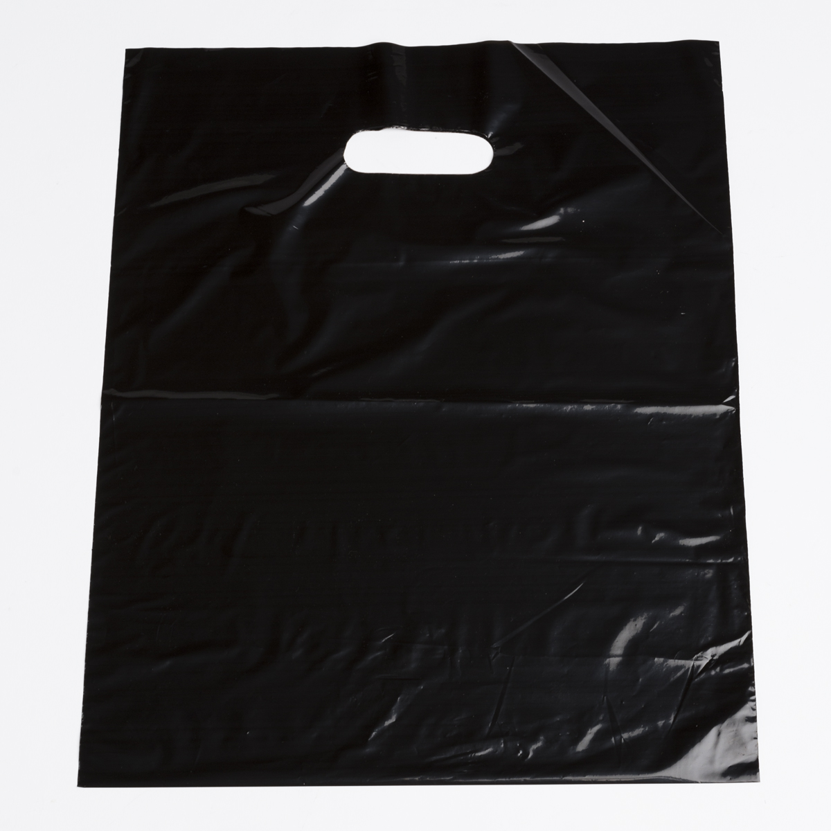 Black plastic shopping bags medium a b store fixtures for Where to buy photography