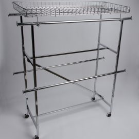 Double Hang Rails for H-Rack - Set of Two