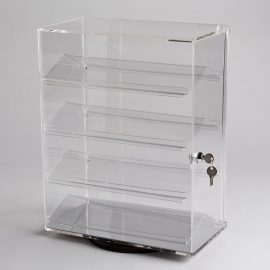 Acrylic Revolving Counter Top Display Case