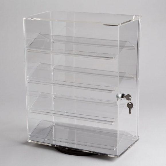 Acrylic Revolving Counter Top Display Case