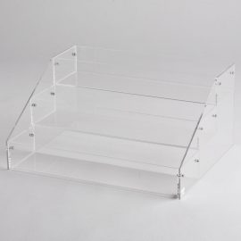 Acrylic Deep 3 Tier Counter Top Display
