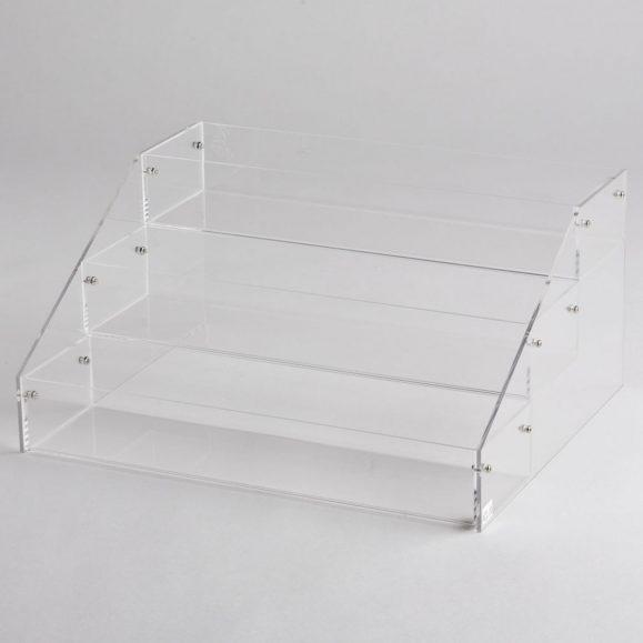 Acrylic Deep 3 Tier Counter Top Display