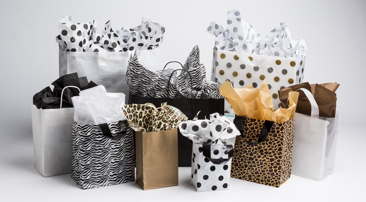 Pattern / Soft Loop Handle Bags