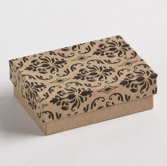 Damask Earring Boxes