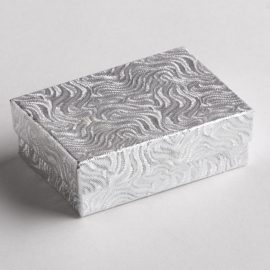 Silver Swirl Earring Boxes