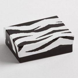Zebra Earring Boxes