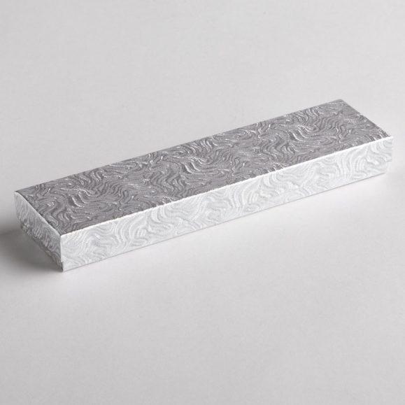 Silver Swirl Watch Boxes