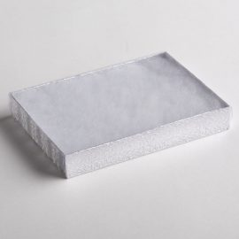Silver Texture Necklace Boxes