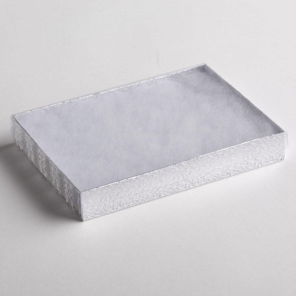 Silver Texture Necklace Boxes