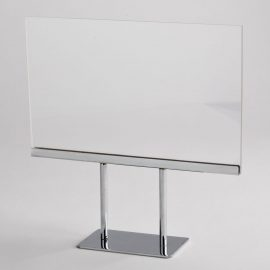 COUNTER-TOP SIGN HOLDER
