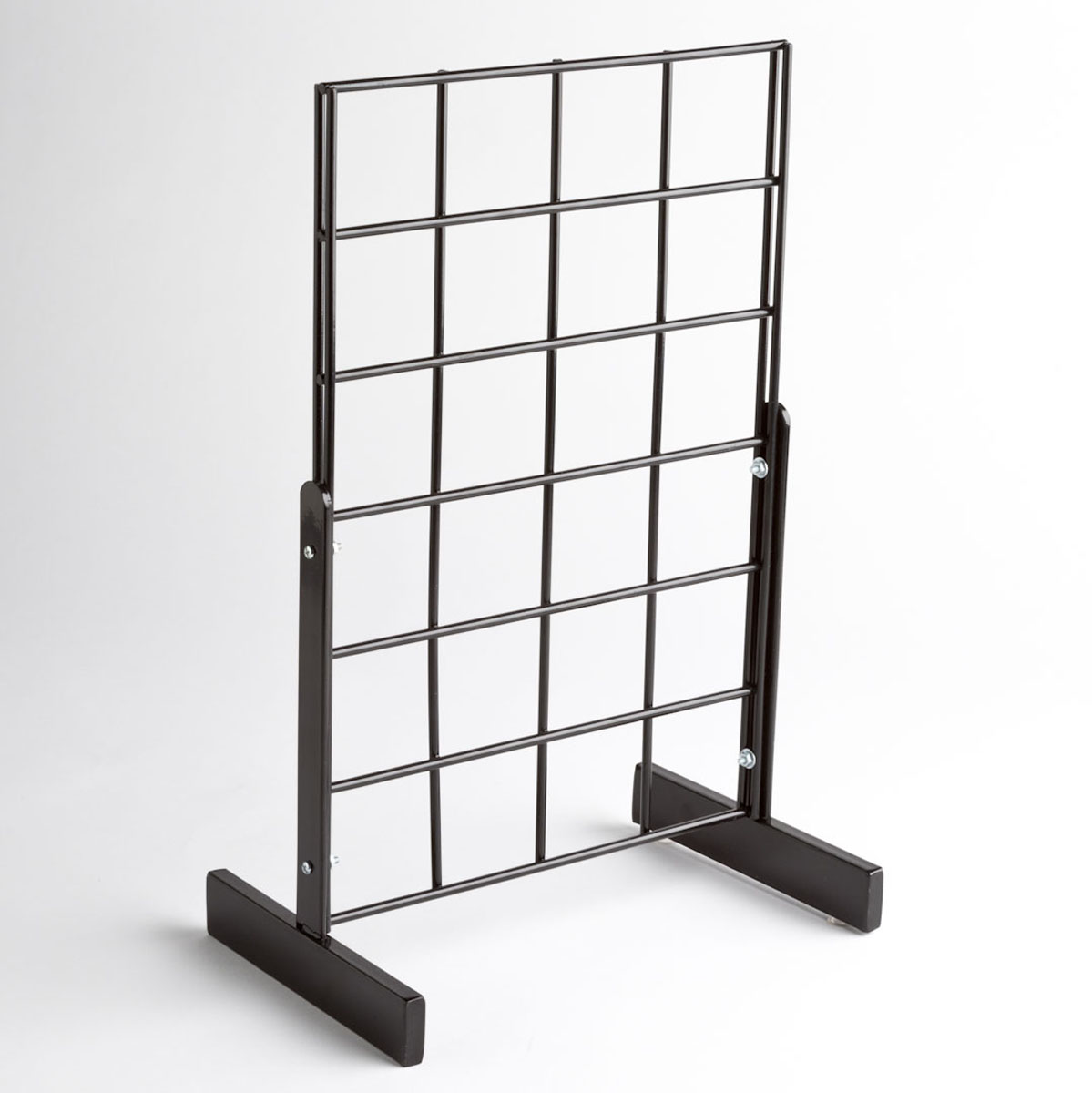 Black Grid Counter Top Display