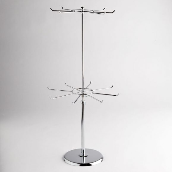 Two Tier Counter Top Spinner Display