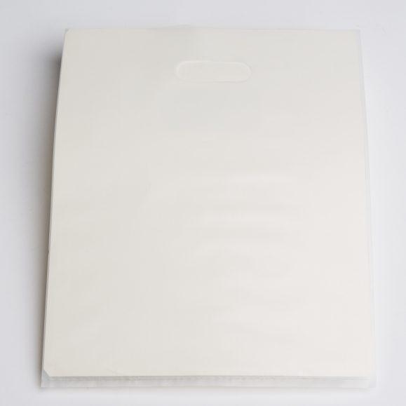 CLEAR FROST FLAT-PLASTIC