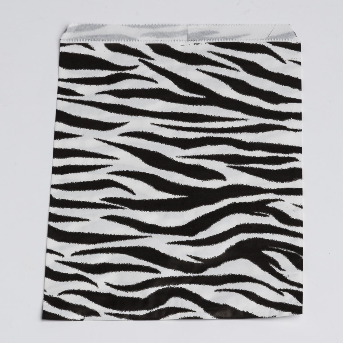 ZEBRA FLAT PAPER BAGS