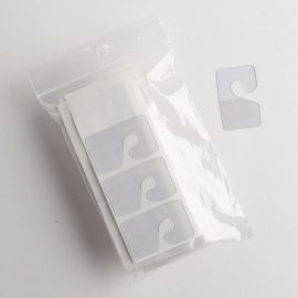 Clear Self Adhesive Hang Tabs with Hook