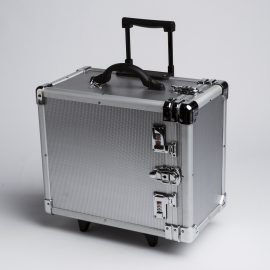 ALUMINUM ROLLING CASE-SMALL