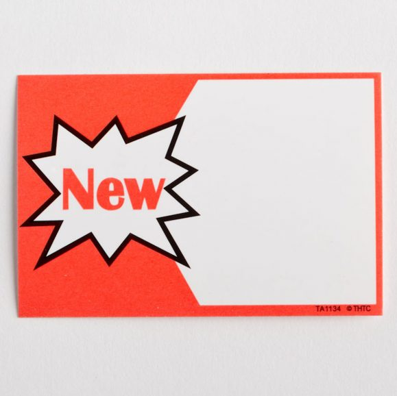 """""""New"""" Paper Price Tags"""