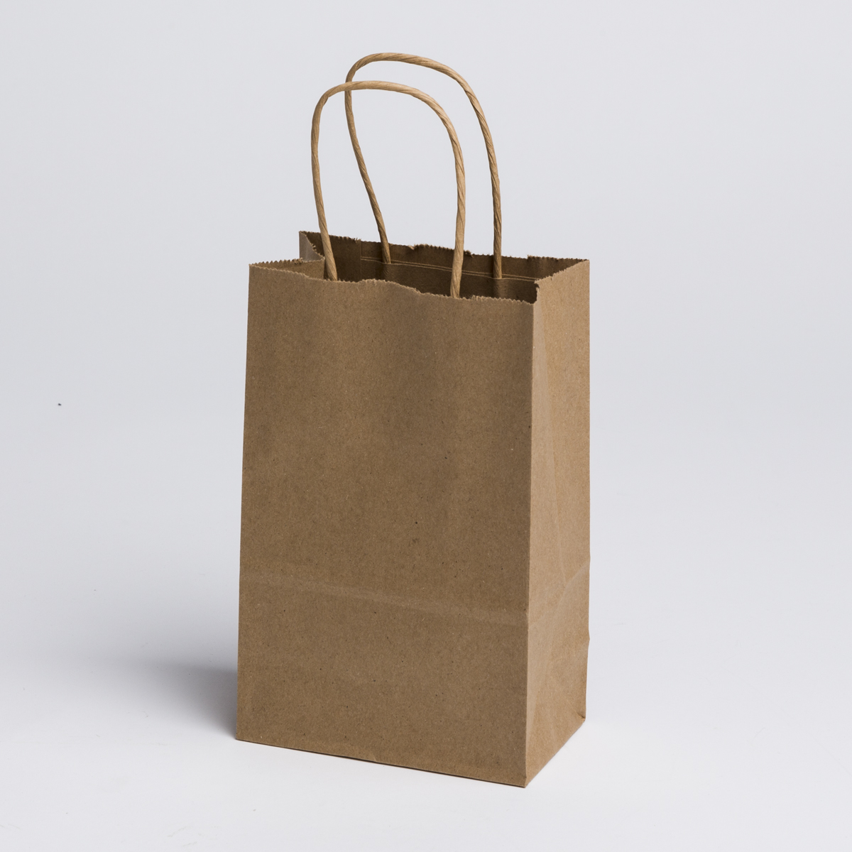kraft paper shopping bags small a b store fixtures. Black Bedroom Furniture Sets. Home Design Ideas