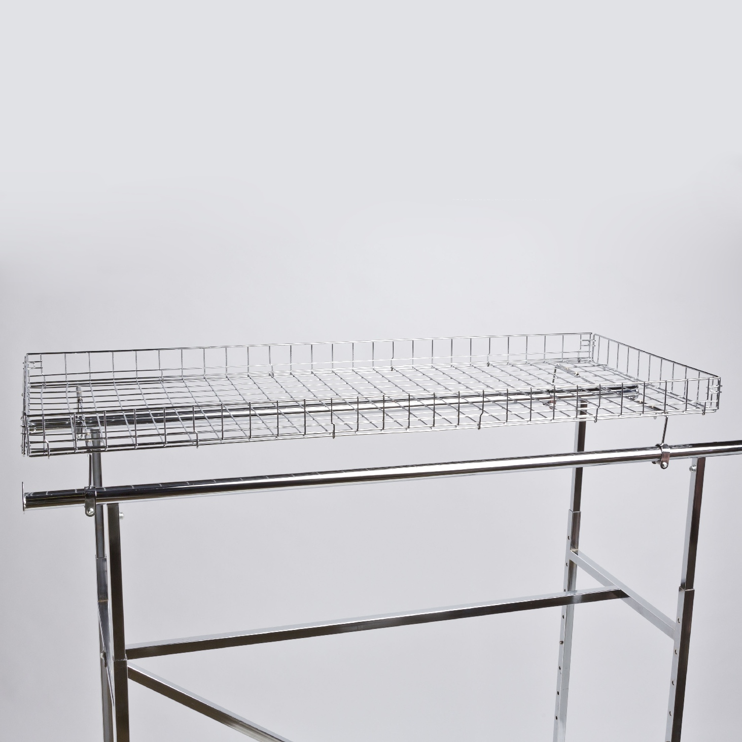 H Rack Basket Topper -| A&B Store Fixtures