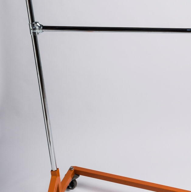 Z Rack Double Hang Rail Bar