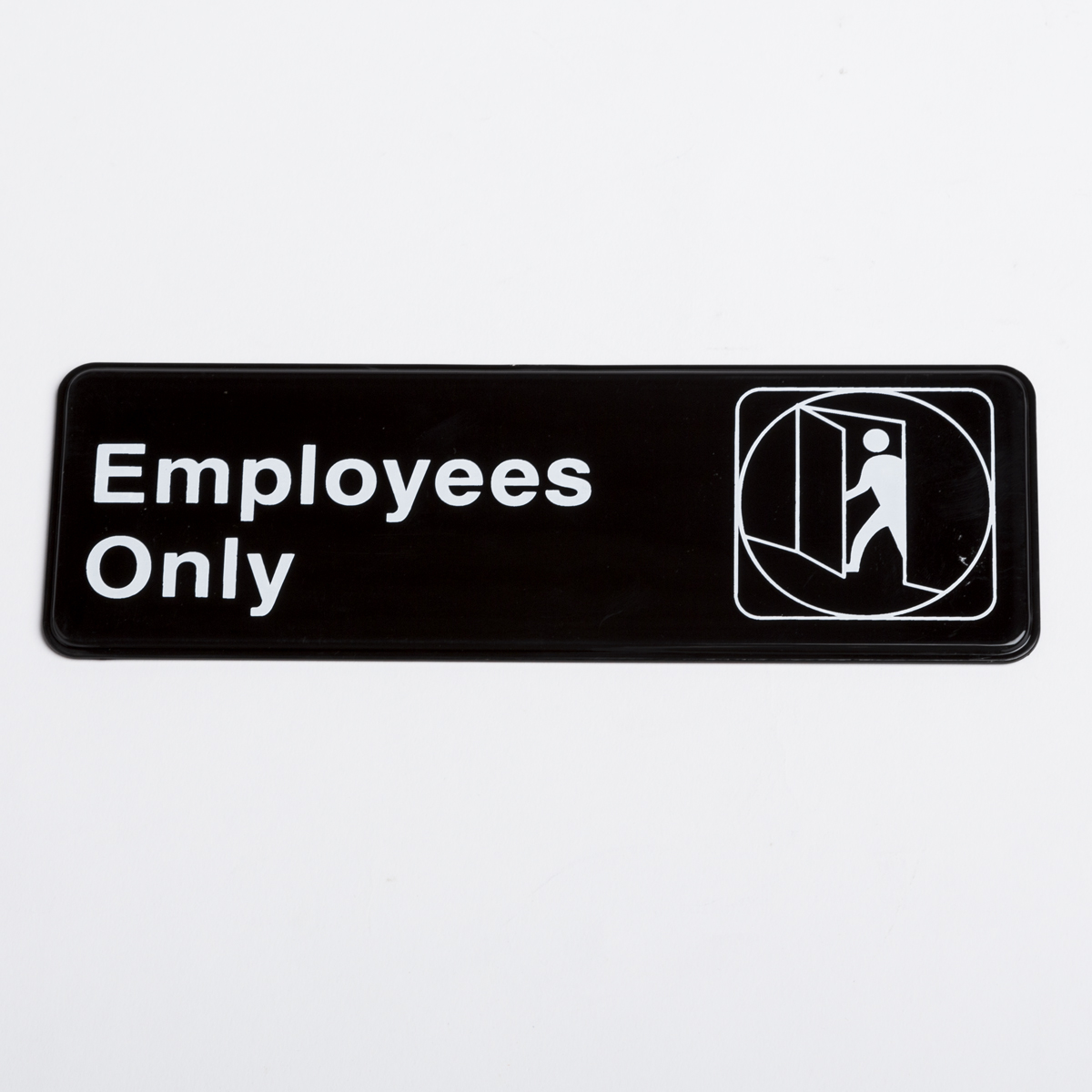 Small Employees Only Sign