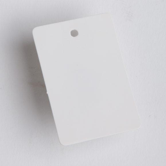 WHITE PRIC TAG-BLANK