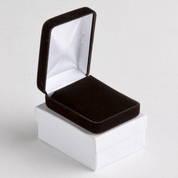 Black Velvet Pendant Box