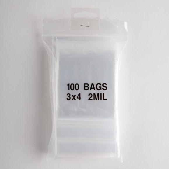 CLEAR ZIP-LOCK BAG