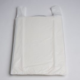Jumbo White T-Shirt Bag