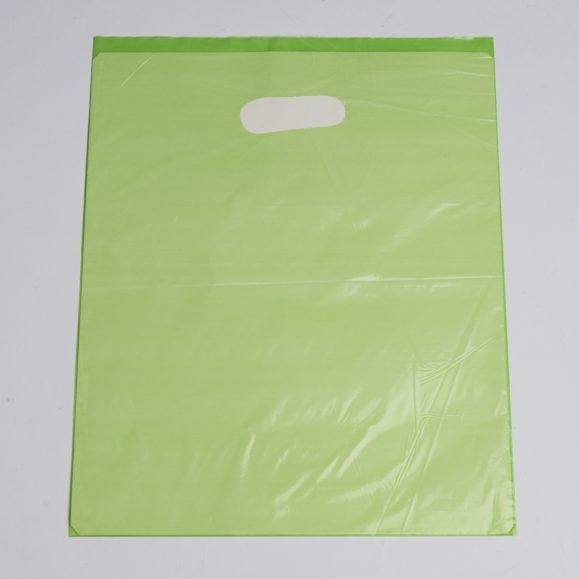 Medium Lime Low Density Plastic Bag