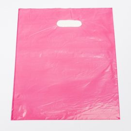 Medium Pink Low Density Plastic Bag