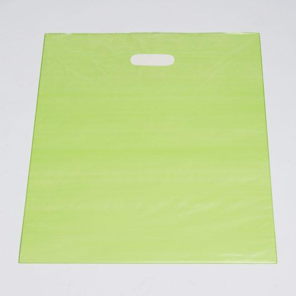 Large Lime Low Density Plastic Bag