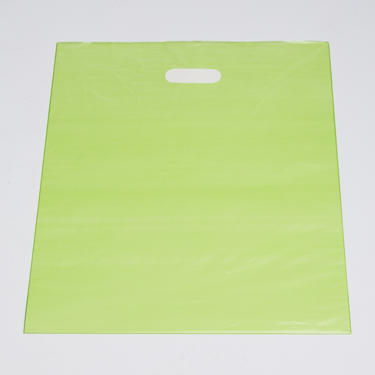 Large Lime Low Density Plastic Bag