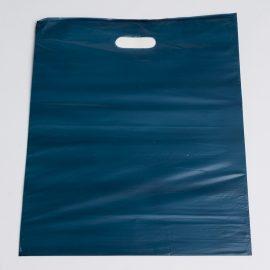 Large Navy Low Density Plastic Bag