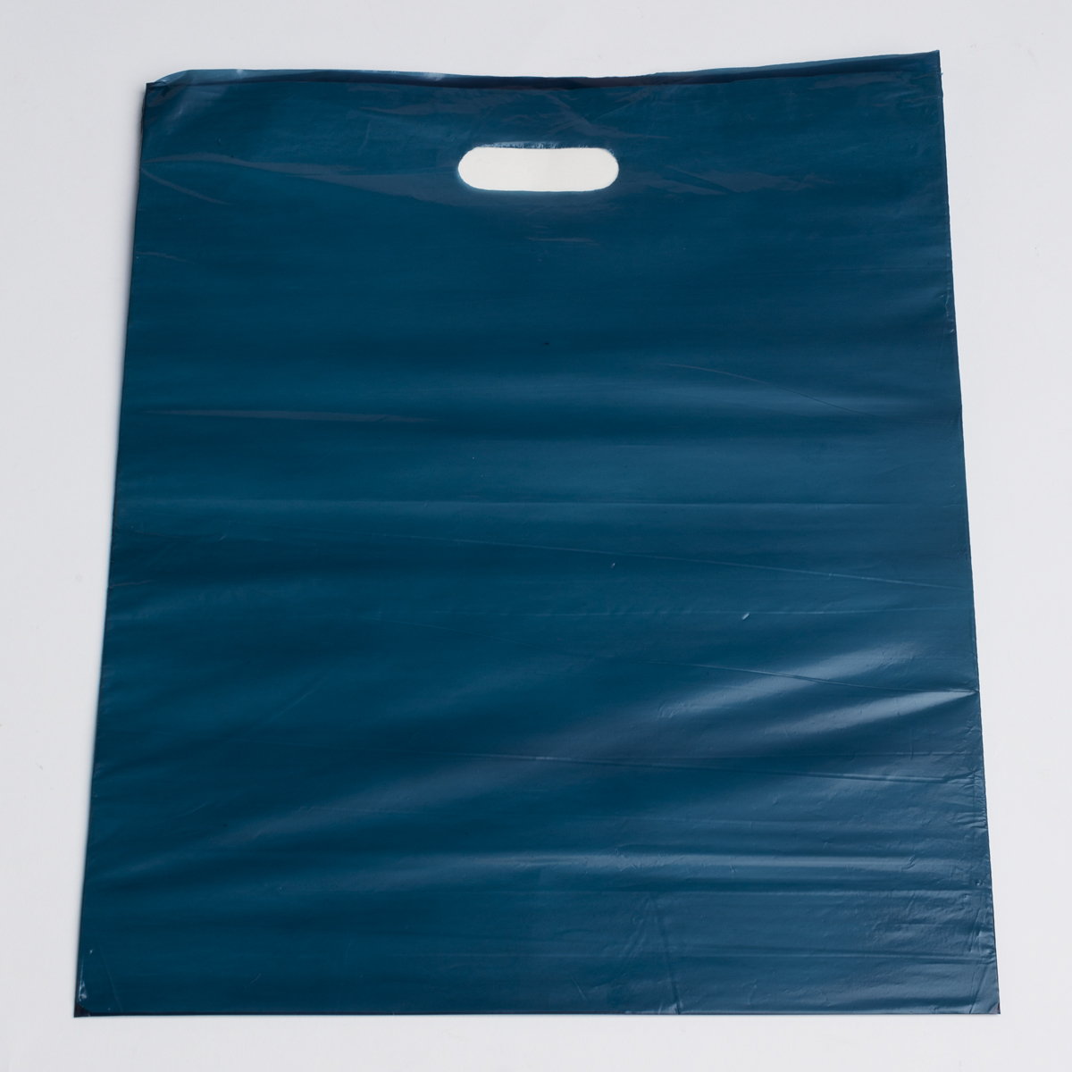 Large Navy Low Density Plastic Bag
