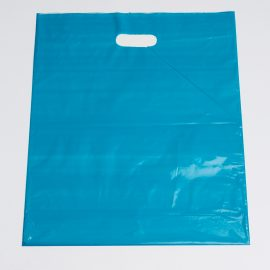 Large Teal Low Density Plastic Bag