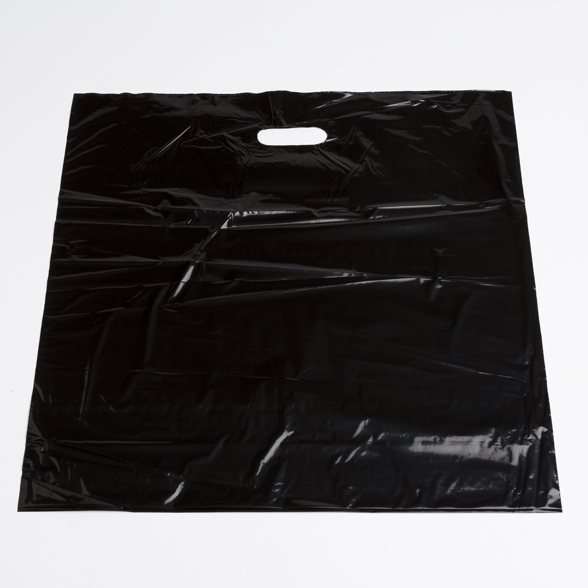 Extra Large Black Low Density Plastic Bags