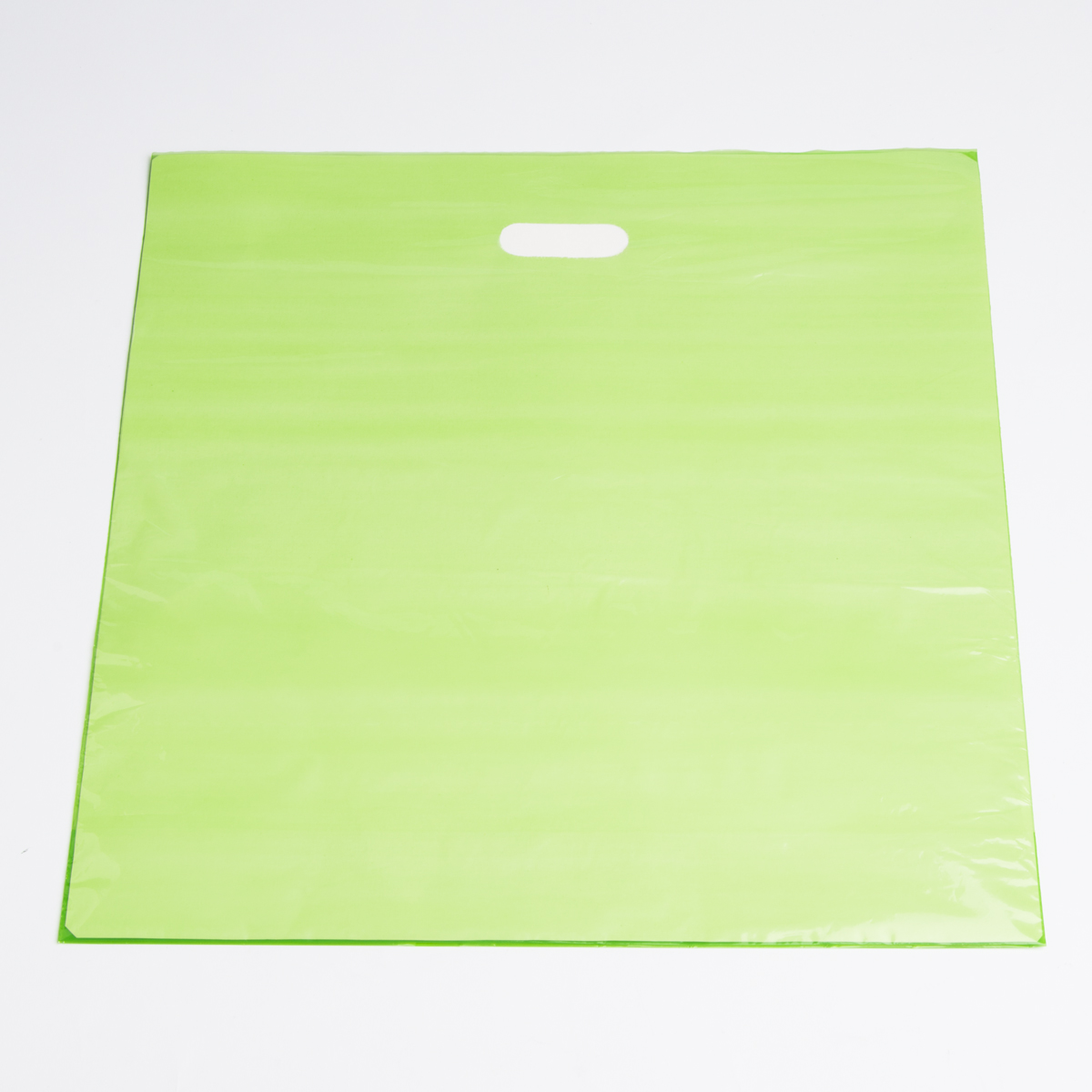 Extra Large Lime Low Density Plastic Bag