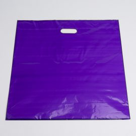 PURPLE LOW DENSTIY PLASTIC BAG