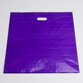 PURPLE LOW DENSTIY PLASTIC BAG