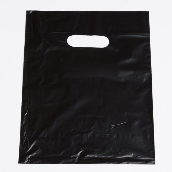 Small Black Low Density Plastic Bag