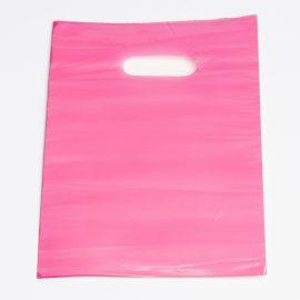 Small Pink Low Density Plastic Bag