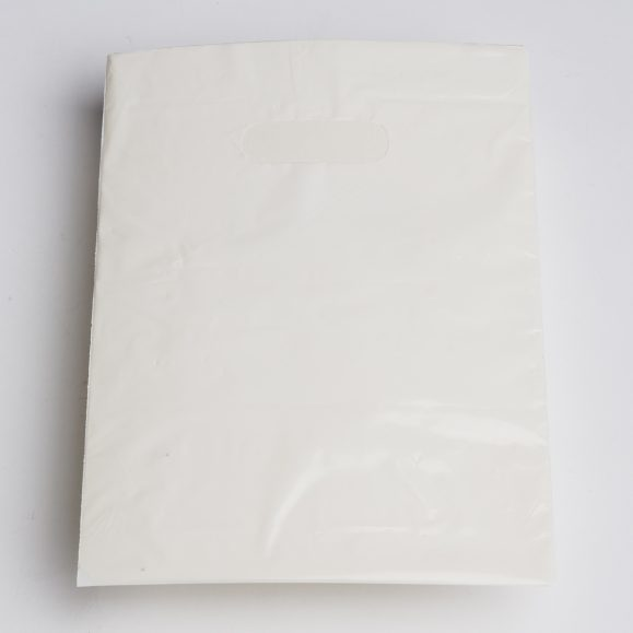 Small White Low Density Plastic Bag