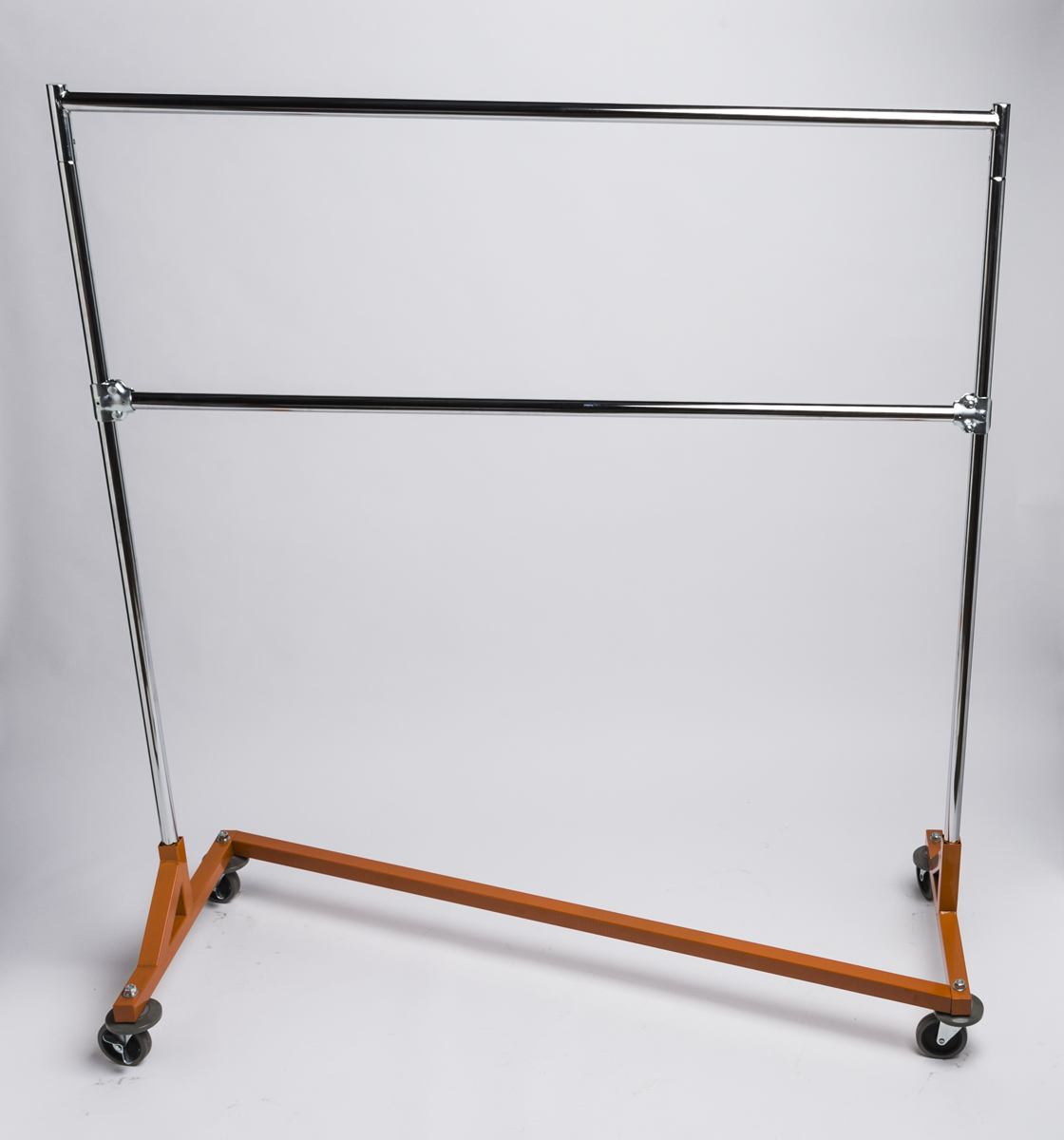 Z Rack With A Heavy Duty Orange Base A Amp B Store Fixtures
