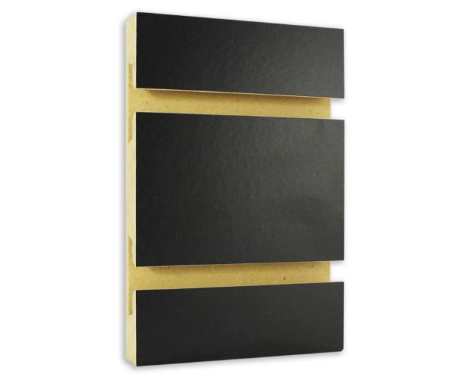 Black Melamine Slatwall A Amp B Store Fixtures