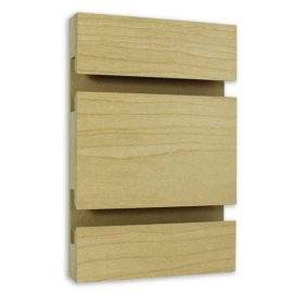 Slatwall Panel Maple